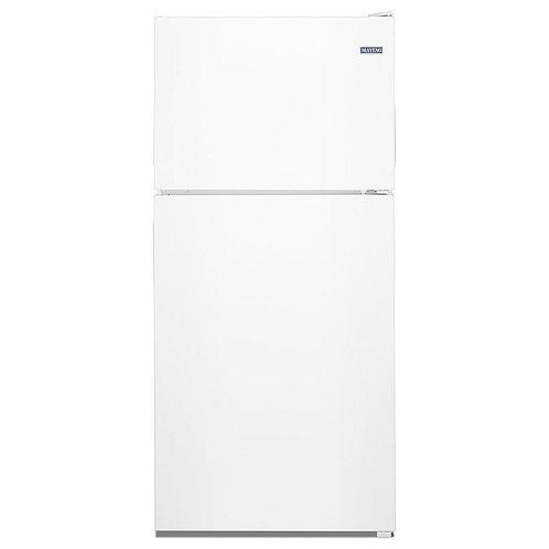 Maytag 30-inch Wide Top Freezer Refrigerator- 18 Cu. Ft. (MRT118FFFH)