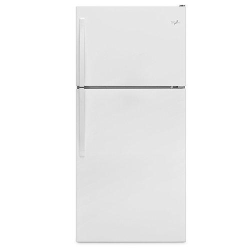 """Whirlpool 30"""" Wide Top-Freezer Refrigerator with Flexi-Slide™ Bin (WRT318FZDW)"""