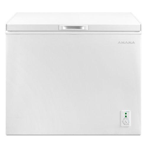 Amana 7.0 Cu. Ft. Compact Freezer With 1 Basket (AQC0701GRW)