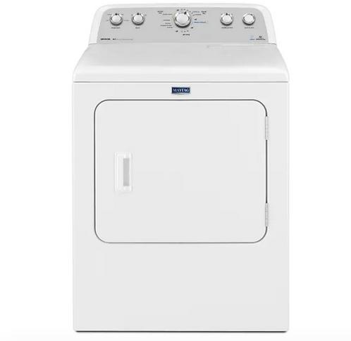 Maytag Bravos High Efficiency Electric Dryer – 7.0 cu (YMEDX6STBW)