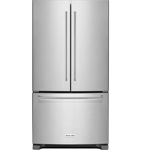 KitchenAid 25 Cu. Ft. 36-Width French Door Refrigerator (KRFF305ESS)