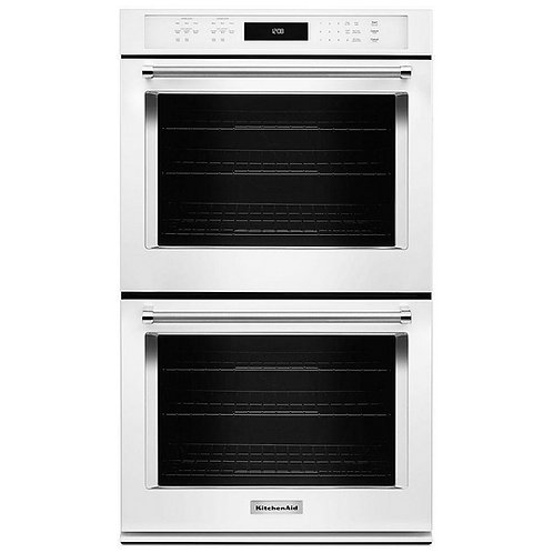 "KitchenAid 30"" Double Wall Oven (KODE500EWH)"