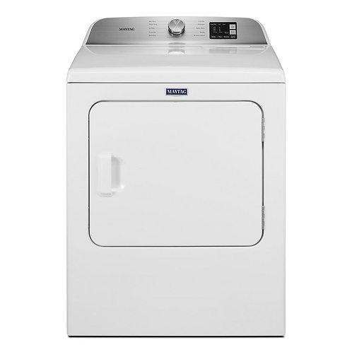 Maytag Top Load Electric Dryer w/ Advanced Sensing - 7.0 Cu. Ft. (YMED6200KW)