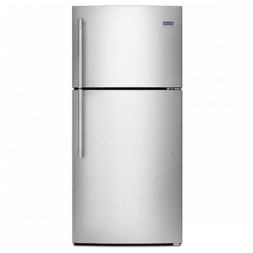 Maytag 30-inch Wide Top Freezer Refrigerator W/ Powercold® Feature (MRT519SFFZ)