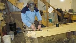 Laying out joinery