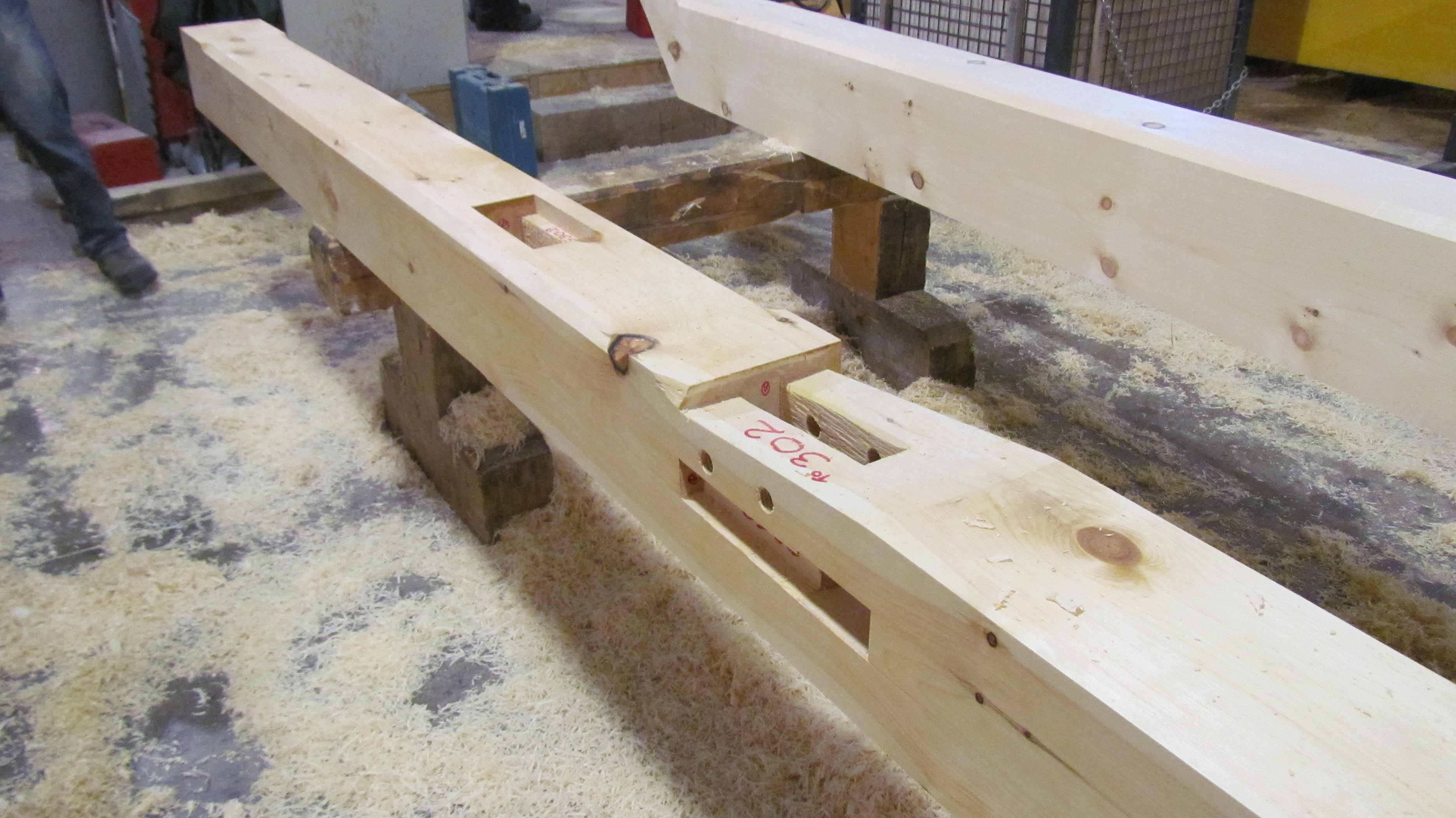 Timber ready for finish
