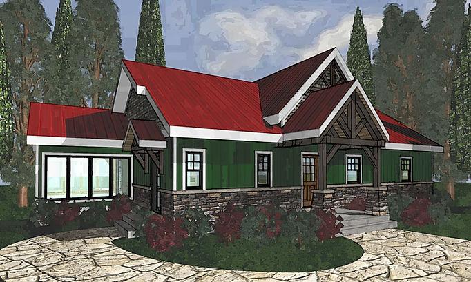 Carriage House PineRidge Timberframe