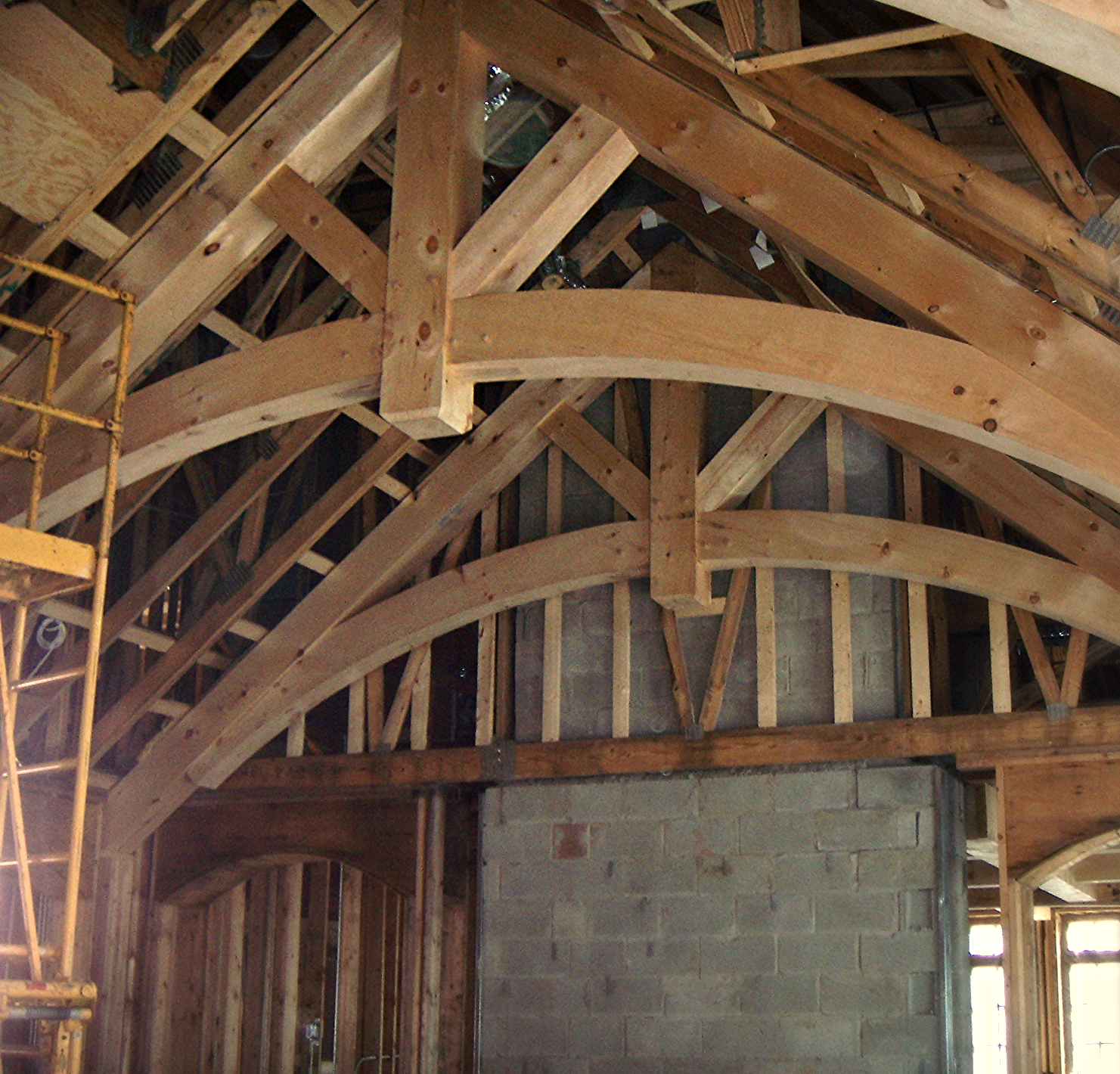 Curved Trusses
