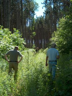 PineRidge Timberframe- site visit