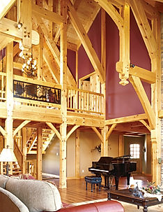 Custom Timber Great Room