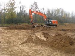 PineRidge - construction begins