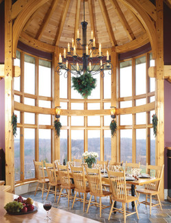Curved Breakfast Area