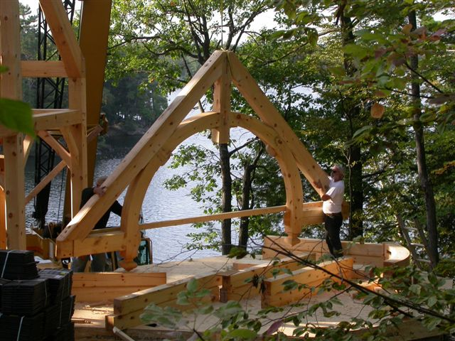 Hammerbeam Trusses