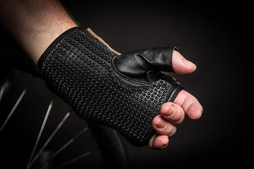 Grippitz Original wheelchair glove, with textured rubber palm