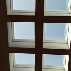 כיפות תאורה לגג בטון שטוח