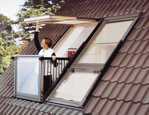 VELUX חלון מרפסת של חברת