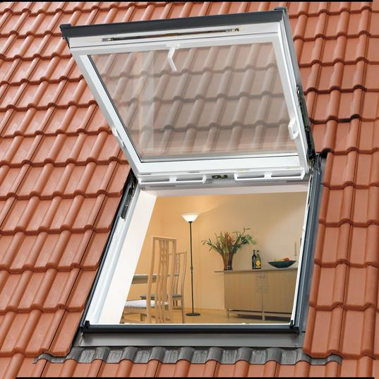 חלון גג רעפים ציר כפול