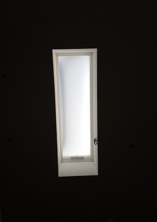 כיפת תאורה קבועה מלבנית בזיגוג חלבי