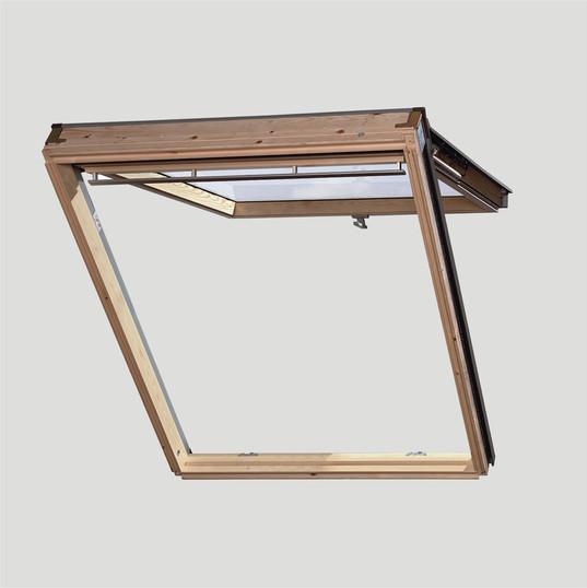 חלון גג ציר כפול