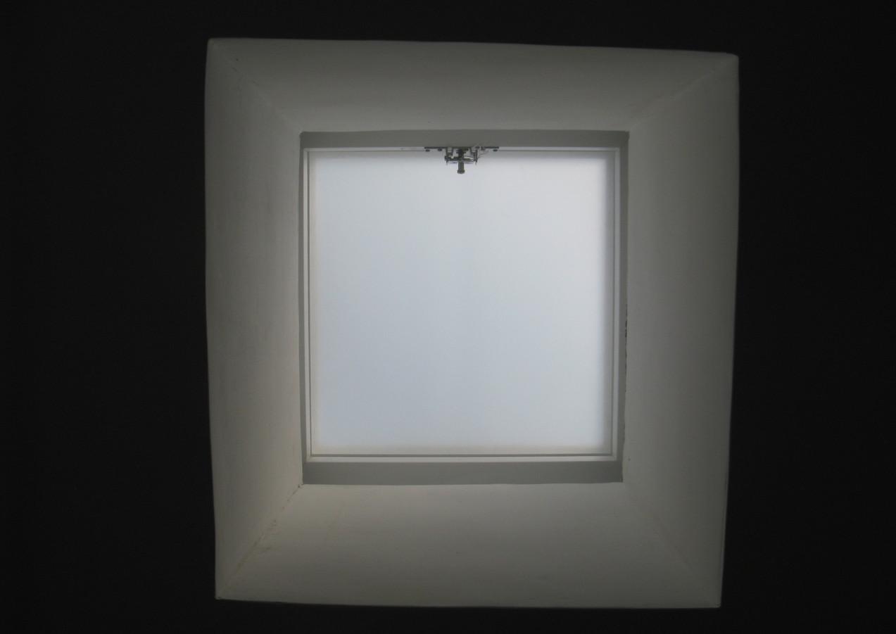 כיפת תאורה ריבועית קבועה