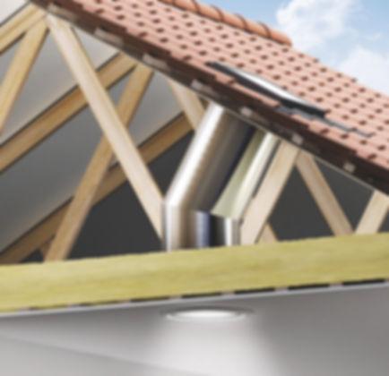 תעלת אור טבעי לגג