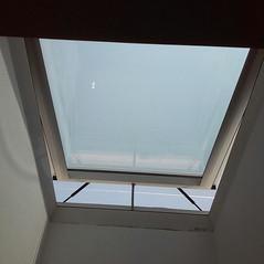 כיפת תאורה לגג בטון שטוח