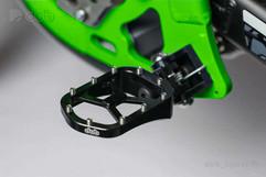 Adjustable CNC Footpegs