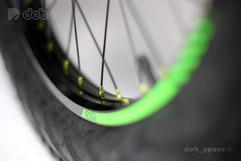 Optional wheel sizes