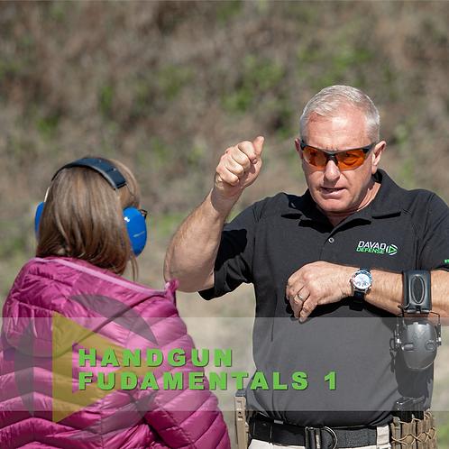Handgun Fundamentals 1