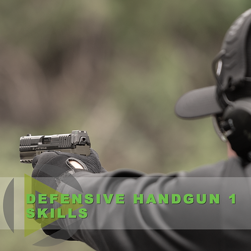 Defensive Handgun 1 - Skills