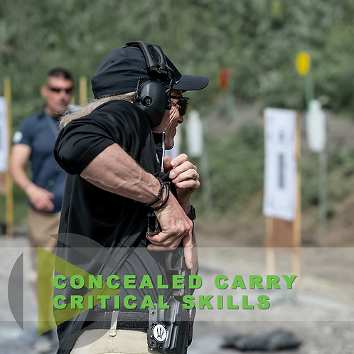 Concealed Carry Critical Skills