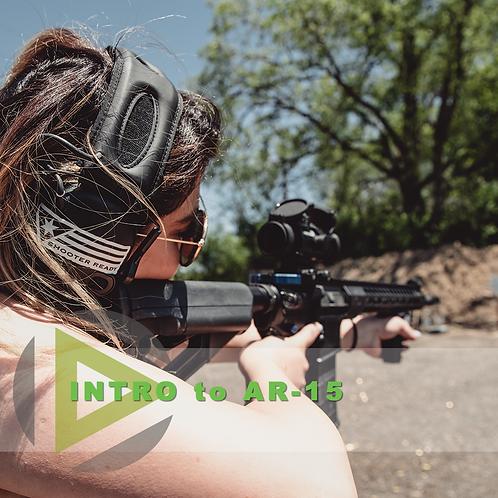 Intro to AR 15