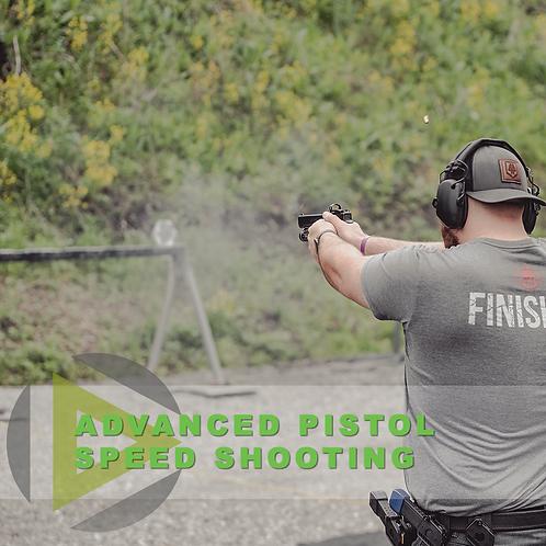 Advanced Pistol Skills – Speed shooting, running the gun faster