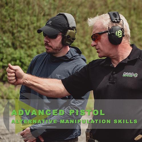 Advanced Pistol Skills – Alternative Manipulation Skills