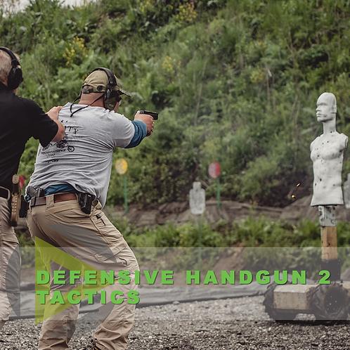 Defensive Handgun 2 - Tactics