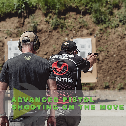 Advanced Pistol Skills – Shooting on the Move