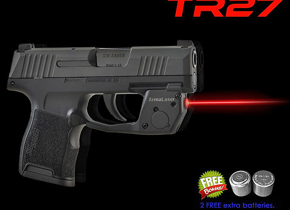 TR27 Red Laser Sight for SIG Sauer®  P365 Guns w/ Grip Touch Activation