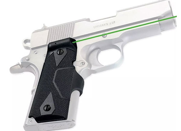 LG-404 GREEN Laser Sight for Compact 1911 Colt, Kimber, Springfield, Wilson