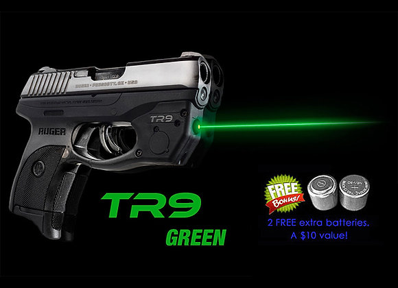 TR9-G Green Laser Sight for Ruger® LC9 LC9s LC380 EC9s w/ Grip Touch Activation
