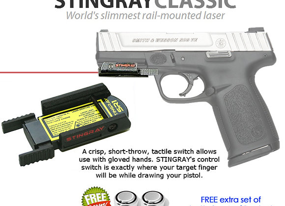 ArmaLaser Stingray RED LASER Sight for S&W Smith & Wesson SD9VE, SD40VE, 1911TA