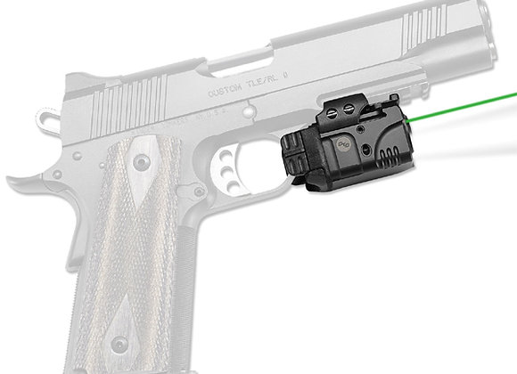 Universal GREEN Laser & LED Light Rail Master for Pistols with Rails