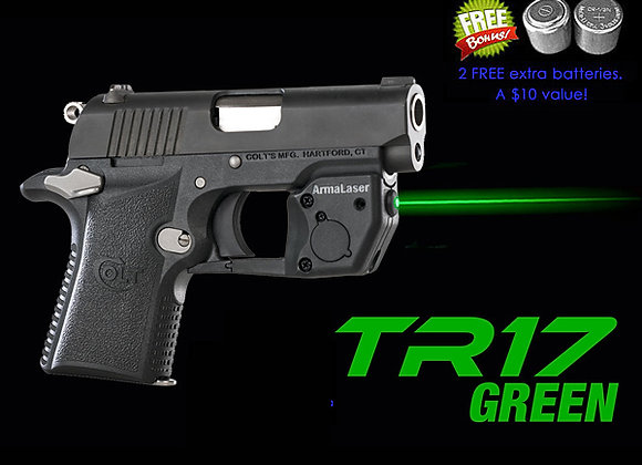 TR17-G Laser Sight for Colt Mustang XSP with Grip Touch Activation