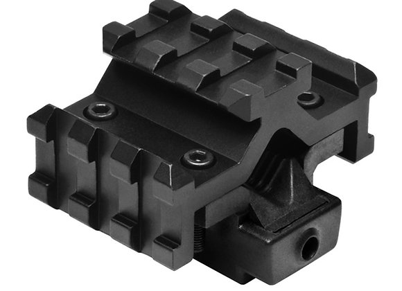 Universal Red Laser Sight for Rifle Barrels - Adds 3 Rail-Mounts