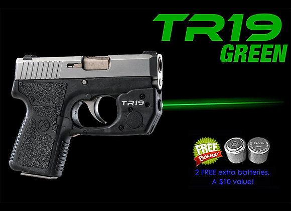 TR19-G Green Laser Sight for Kahr® P380, CW380, CT380 with Grip Touch Activation