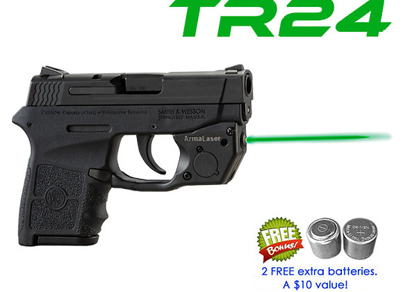 TR24-G Green Laser Sight for Smith-Wesson®S&W M&P Bodyguard 380 Pistols