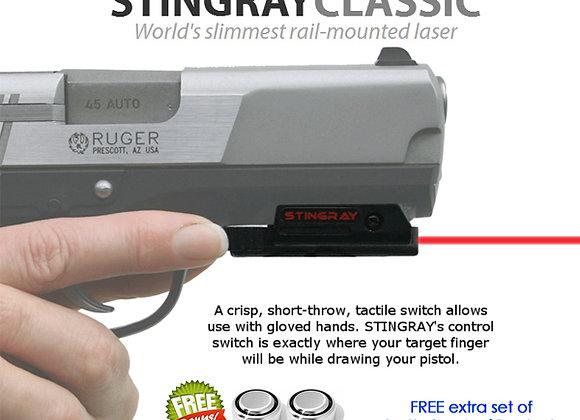 ArmaLaser Stingray RED LASER Sight for Ruger SR9 9E SR40 P95 P345 & American