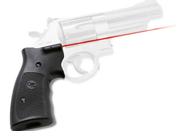 RED Laser Sight Lasergrip for S&W K L & N-Frame Revolvers by Crimson Trace