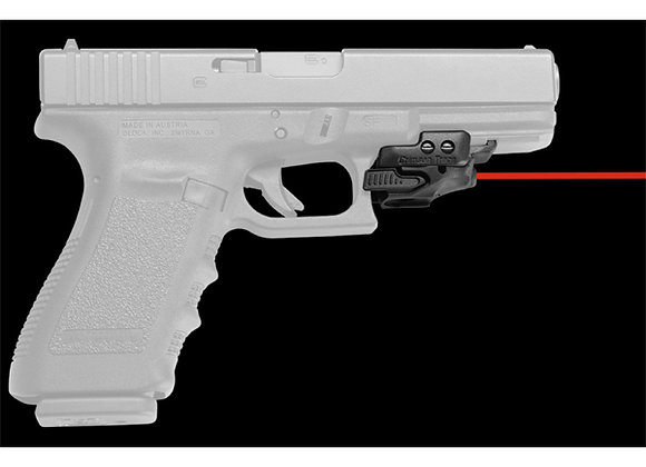 Universal Red Laser Sight Rail Master by Crimson Trace for Pistols with Rails