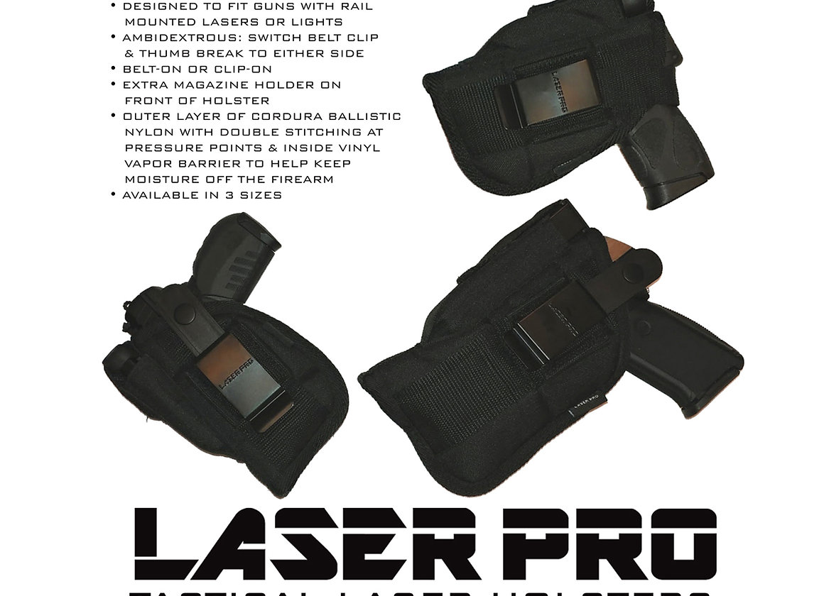ArmaLaser Stingray Red Laser for Glock 17 19 20 21 22 23 31 32 34 35