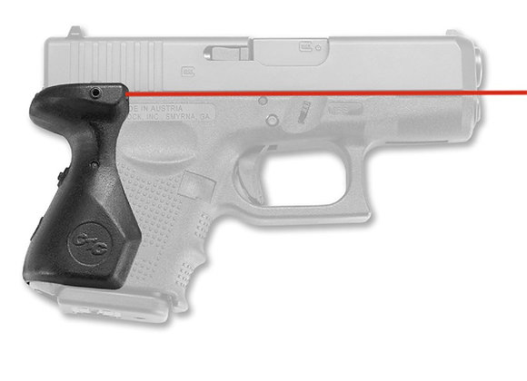 LG-825 RED Laser Sight Lasergrip for GLOCK 26, 27, 33 Compact Pistols
